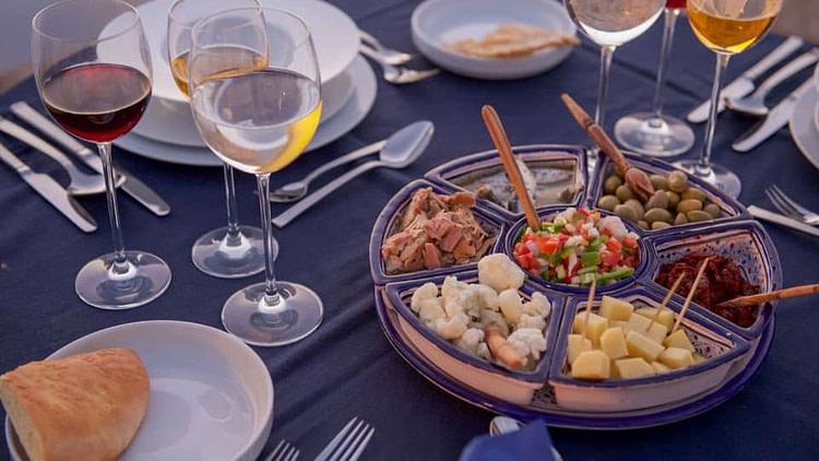 L'Auberge de Tamezretthey offer a delightful dinner